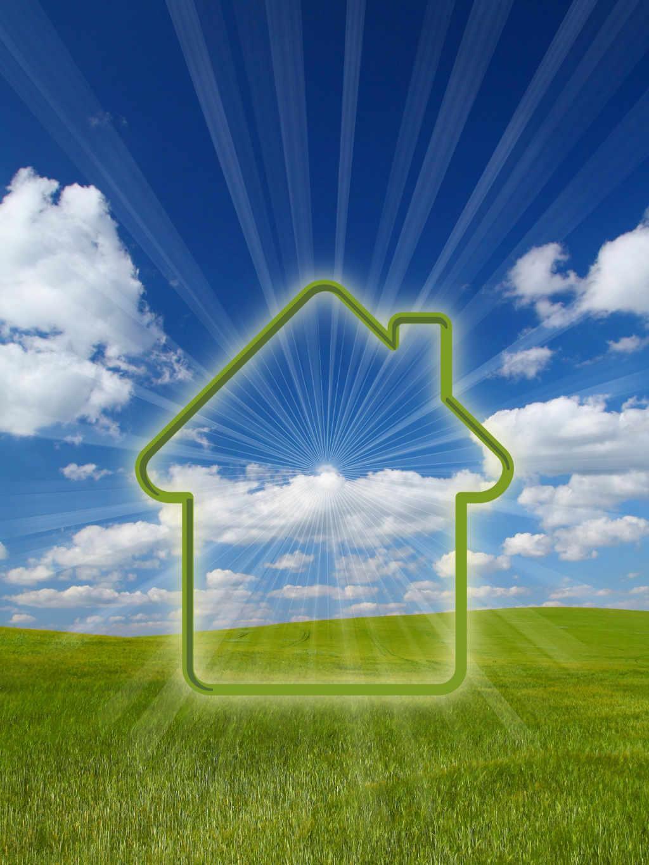 Haus Sonnenstrahlen Wiese