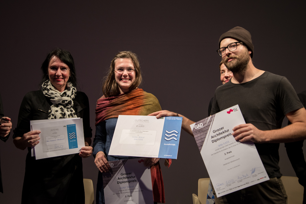 GAD Awards 2016 in Graz Architecture Diplom Award Preisverleihung