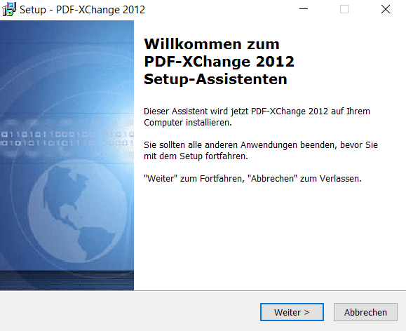 Installation PDF XChange Printer 2012