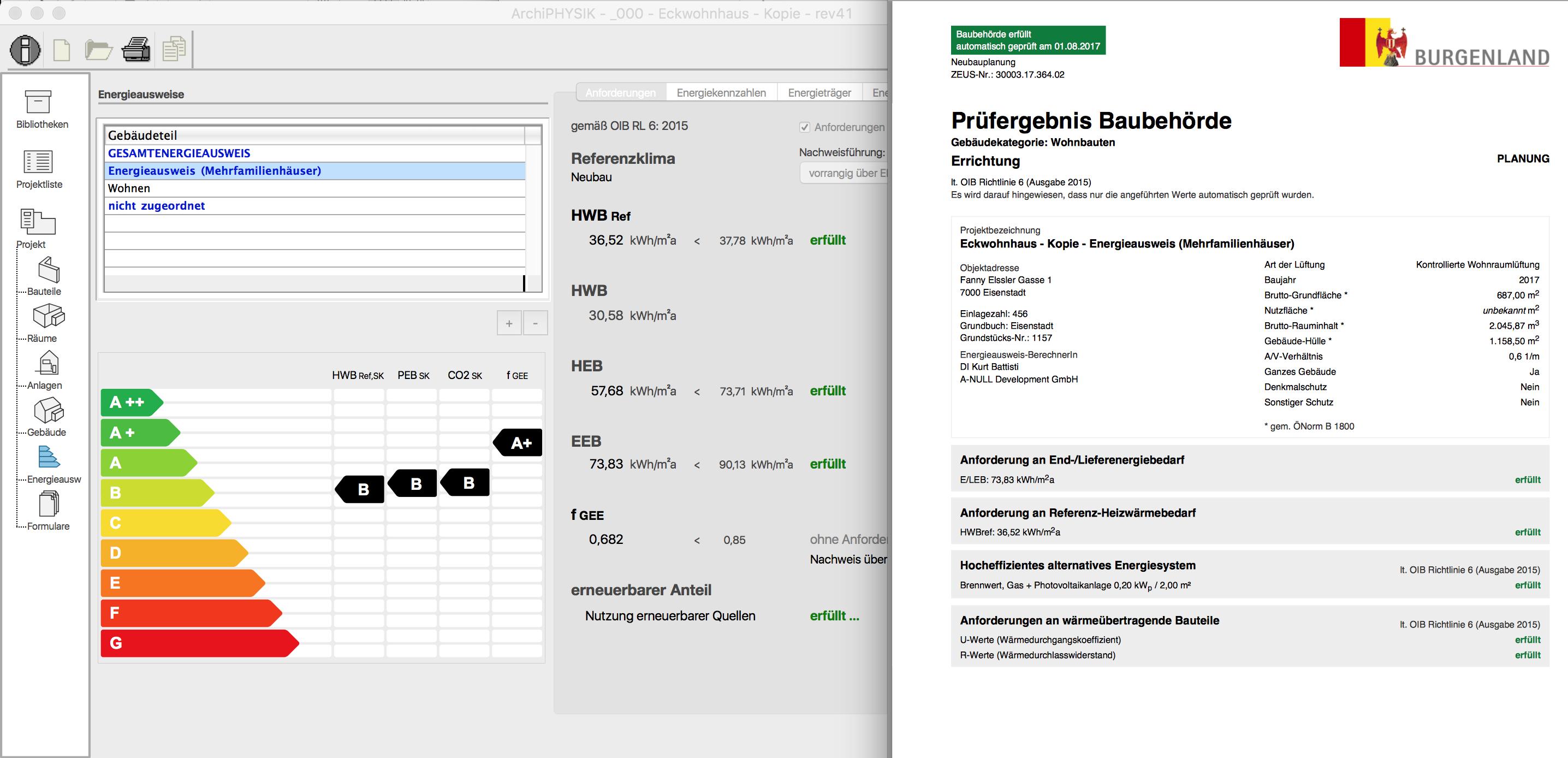 Energieausweis ZEUS Burgenland - Hocheffiziente alternative Energiesysteme nachweisen
