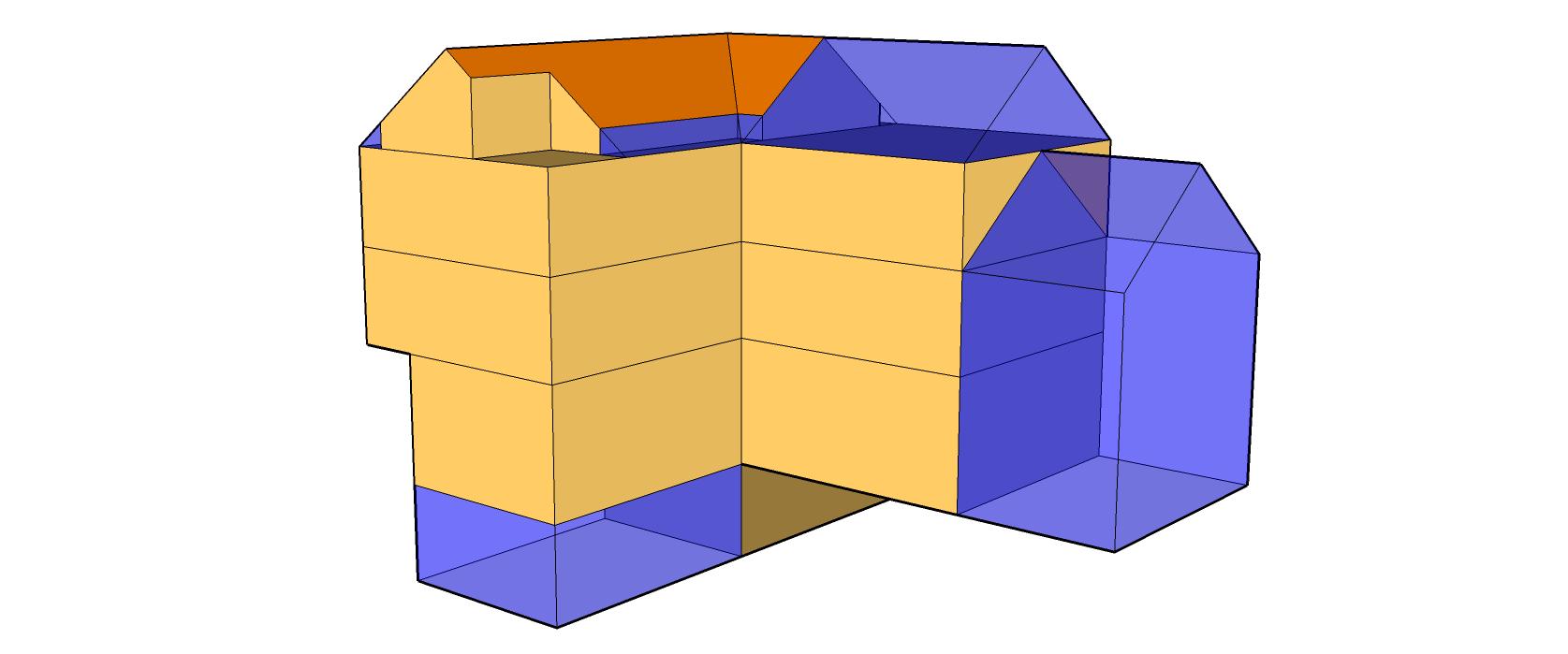 Projektbauteile mit CAD Daten verknüpfen SketchUp Modell für ArchiPHYSIK