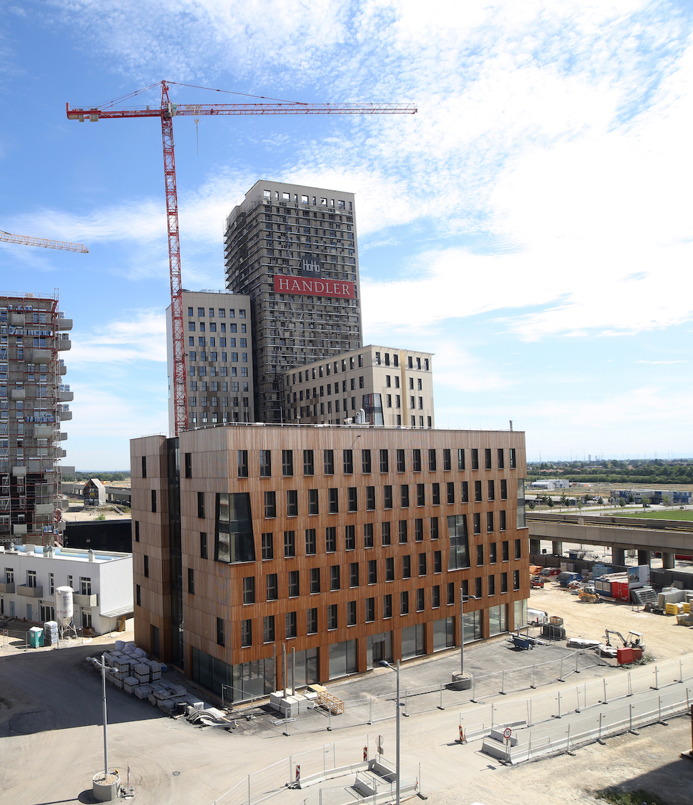 HoHo Wien Bauphase cetus Baudevelopment GmbH