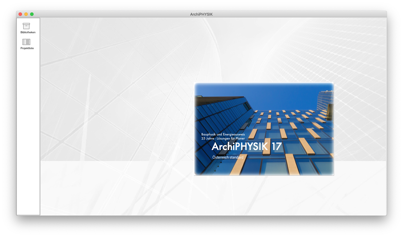 ArchiPHYSIK 17 mit OIB RL6