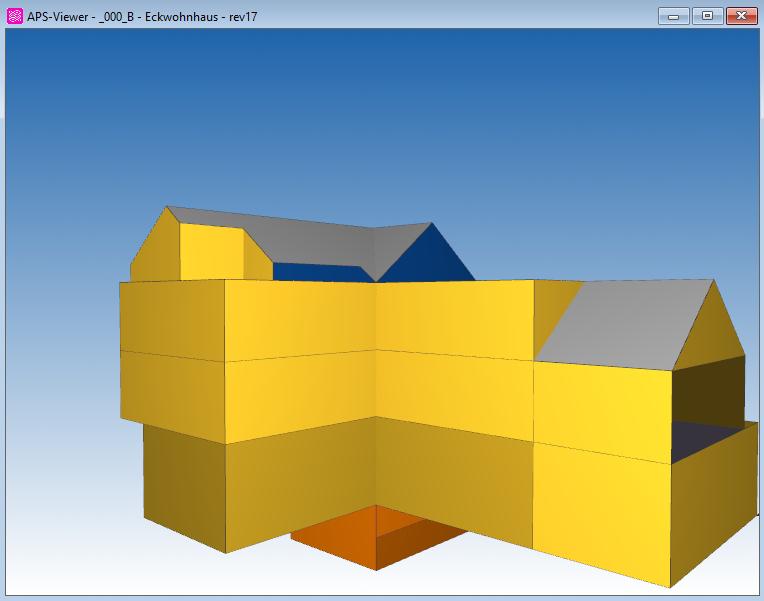 ArchiPHYSIK. 3D Darstellung einer APS Datei aus SketchUp oder Archicad